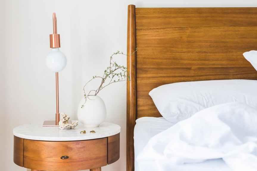 bed bedroom comfort contemporary